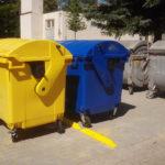 Nová separační místa v Nerudově ulici